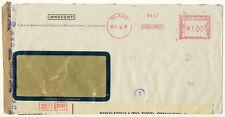 FIRMENBRIEF aus MAILAND 28.2.1942 DOPPELZENSUR (177)
