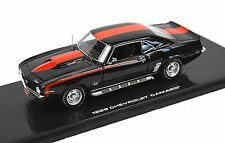 CHEVROLET CAMARO SS 427 1969 BLACK HIGHWAY 61 43008 1:43 RESIN MODEL