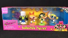 CARTOON NETWORK POWERPUFF GIRLS COLLECTIBLE FIGURES MIP WITH MOJO JOJO