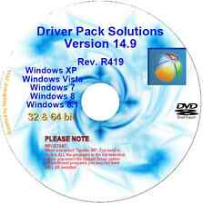 Auto update PC drivers in mins v14.9 32/64 bit Windows XP Vista 7 8 & 8.1 DVD DL