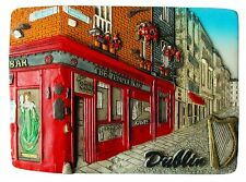 Fridge magnet - Dublin,irish souvenir,ireland 3D design gift TEMPLE  BAR/DAY