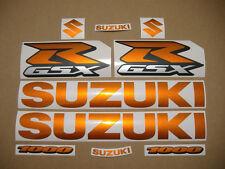 gsxr 1000 orange full decal sticker graphics kit set k6 k7 k8 k9 k10 l1 l2 l3 l4
