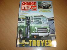 Charge utile N°155 Robin.Citroën H pompiers.Berliet GLC armée de l'air.Troyes