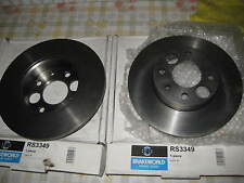 NEW REAR BRAKE DISCS - FITS: ALFA ROMEO 33 & 4x4 (1983-1995)
