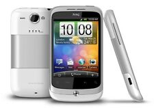 HTC WILDFIRE Weiss (Ohne Simlock) Smartphone-Wlan-3G-GPS-Radio-5MP-Android-TOP!