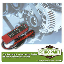 Classic Vauxhall Car Battery & Alternator Tester - 12v DC - DIY - Trade