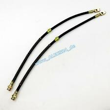 SET NEW BRAKE HOSE BREAK CABLE FRONT AXLE VW GOLF V VI SKODA OCTAVIA