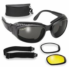 Pacific Coast Airfoil 9100 Interchangeable Goggles Black
