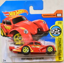 HOT WHEELS 2017 HW SPEED GRAPHICS VOLKSWAGEN KAFER RACER #2/10 SHORT CARD