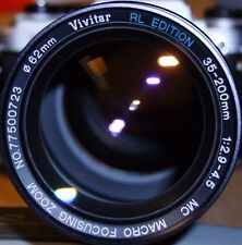 Vivitar Collectors! - Vivitar RL Edition 35-200mm f2.9 for Nikon - Rare!!!