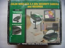 Home Sentinel 2.4GHz Wireless Security Surveillance Monitor Camera CCTV OS 400
