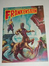 Vintage CASTLE OF FRANKENSTEIN #21 1974 Signed Caroline Munro Monster Magazine