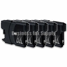 5 BLACK LC61 Ink Cartridges for Brother MFC-490CW MFC-495CW MFC-J615W MFC-J630W