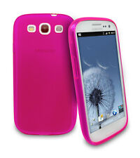 0.3mm Ultra Thin Slim Matte Pink Soft Case for Samsung Galaxy S3 i9300