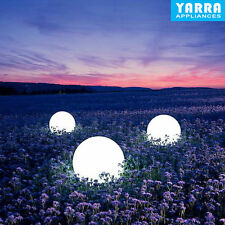 WaterProof LED Solar LED Ball Light Outdoor Garden Path Way Lamp Decor