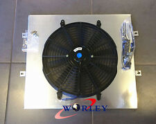 For TOYOTA SURF HILUX 2.4/2.0 LN130 AT/MT Aluminum Fan Shroud + Fans