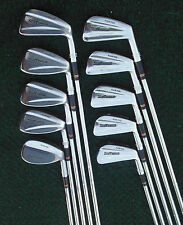 Vintage Wilson Staff Tour Blade (Line Over) Irons 2 Thru SW 1984