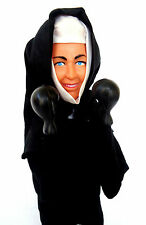 Boxing Nun Hand Puppet - Vintage Circa 1980's Rojus - The Boxing Nun-Scarce