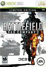 XBOX 360 Battlefield: Bad Company 2 Video Game LIMITED EDITION two fps shooter