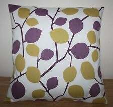 "CLARKE & CLARKE NISSA HEATHER CUSHION COVER 17 X 17"" HANDMADE"