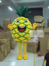 Popular Pineapple Mascot Costume Fancy Dress Outfit Adult Size New Free Shipping