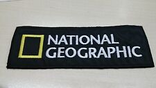 Patch, ricami, toppa, National Geographic  - con velcro - cm8,5 x cm3