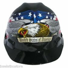 "MSA V-Gard Cap Style  American Pride USA Safety Hard Hat ""Made in USA"""