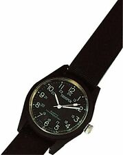 4105 - BLACK Rothco Field Watch Black  Water Resistant