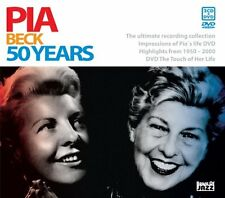 Pia Beck - 50 Years (2006)  2CD+DVD  NEW/SEALED  SPEEDYPOST