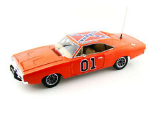 Auto World 1/18 Scale Dukes Of Hazzard 1969 Dodge Charger General Lee AMM964