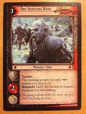 Lord of the Rings CCG Fellowship 1U270 Orc Scouting Band LOTR TCG