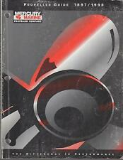 1997-1998 MERCURY MARINE OUTBOARD PROPELLER GUIDE MANUAL