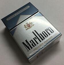 Collectible Marlboro Silver 72's Cigarette Pack