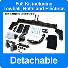 Vauxhall Insignia 2008 - Hatchback 5 door Detachable Towbar + Electric Kit 13Pin