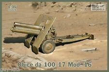 Obusier 100/17 Mod.16, ARMEE ITALIENNE 1939/1943 - KIT IBG Models 1/35 n° 35028