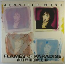 "12"" Maxi - Jennifer Rush - Flames Of Paradise - A3007h - washed & cleaned"