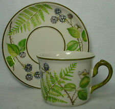 VILLEROY & BOCH china FORSA pattern CUP & SAUCER Set Cup 2-5/8""