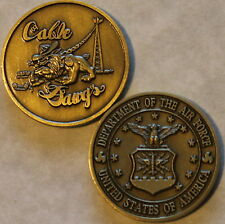 CABLE DAWGS Communication Air Force Challenge Coin             S