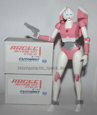"Transformers Licensed Takara Tomy G1 Arcee 10"" Poseable Action Figure Boxed"