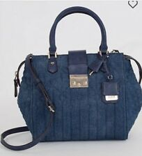 GUESS Women's Blue Denim Kalen Cross Body/Satchel Bag-NWT-RV $128-Super Cute!!