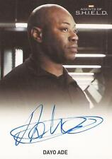 "Marvel Agents of Shield - Dayo Ade ""Agent Barbour"" Auto / Autograph Card"