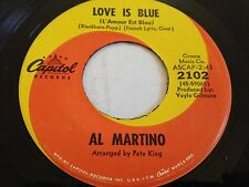 "Al Martino - Love Is Blue / I'm Carryin' The World On My Shoulders 7"" 45 RPM"
