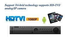 32ch DVR system 1080p/720p record, HD-TVI/Analog/Onvif IP Camera compatible
