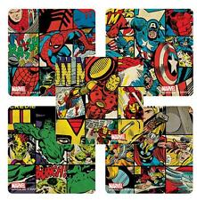 """25 Marvel Comics Retro Stickers, Assorted, 2.5"""" x 2.5"""" each, Party Favors"""