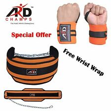 ARD™ GYM BACK PULL UP CHAIN DIPPING BODY BUILDING WORKOUT WEIGHT LIFTING BELT
