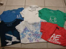 9 Womens jrs AMERICAN EAGLE & AEROPOSTALE s/s tank tops t-shirts shirts, M