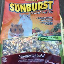 Higgins Sunburst hamster and Gerbil natural gourmet food mix 2.5lb probiotics