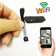 Wireless Spy Nanny Cam Mini Micro Dvr WIFI IP Pinhole DIY Digital Video Camera