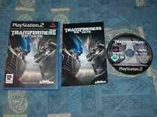 PS2 : TRANSFORMERS : THE GAME - Completo, ITA ! Proteggi o Distruggi !