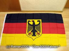 Fahnen Flagge Deutschland Adler Neu Sonderposten - 90 x 150 cm